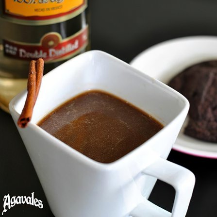 hot chocolate tequila image